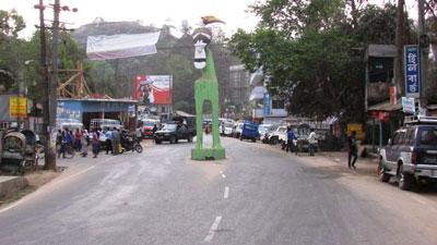বান্দরবানে চলছে সকাল সন্ধ্যা হরতাল