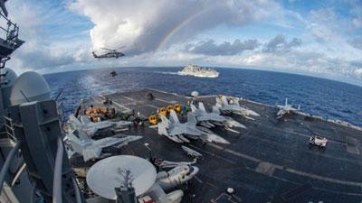 চীন সাগরে মার্কিন নৌবাহিনী