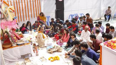 হাবীবুল্লাহ্ বাহার কলেজে সরস্বতী উৎসব