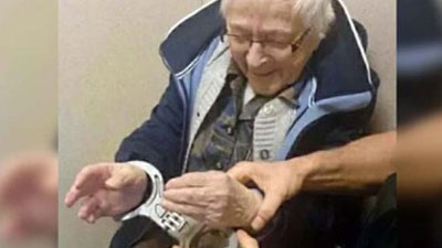 ৯৯ বছর বয়সে জেলে গিয়ে স্বপ্ন পূরণ বৃদ্ধের!