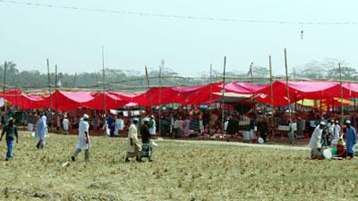 পিরোজপুরে তিনদিনব্যাপী জেলা ইজতেমা শুরু