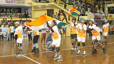 রোলবল বিশ্বকাপে হ্যাটট্টিক চ্যাম্পিয়ন ভারত