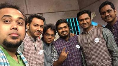 জয়ের আড্ডায় মাছরাঙা টিভিতে গাইবে 'গানকবি'
