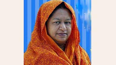 কুমিল্লায় আ.লীগের প্রার্থী আঞ্জুম সুলতানা