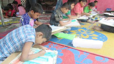 মুন্সীগঞ্জে চিত্রাঙ্গন প্রতিযোগিতা ও পুরস্কার বিতরণ