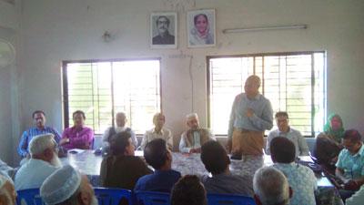 মুন্সীগঞ্জে পদ্মা সেতুর জাদুঘর নির্মাণে আলোচনা সভা