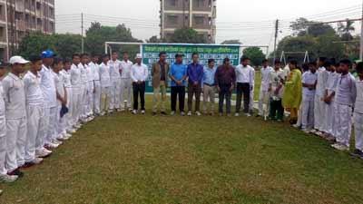 দিনাজপুরে অনুর্ধ্ব-১৩ ক্রিকেট প্রতিযোগিতা