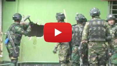 আতিয়া মহলে সেনাবাহিনীর অভিযানের ভিডিও দেখুন