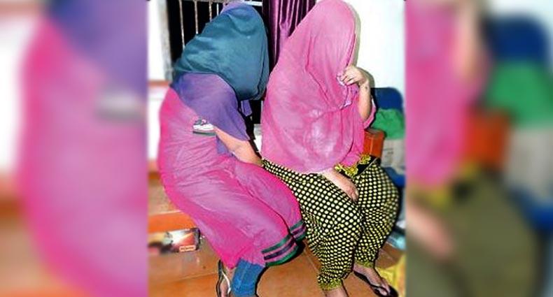 বাসায় আটকে দেহব্যবসা, কান্না শুনে দুই নারীকে উদ্ধার