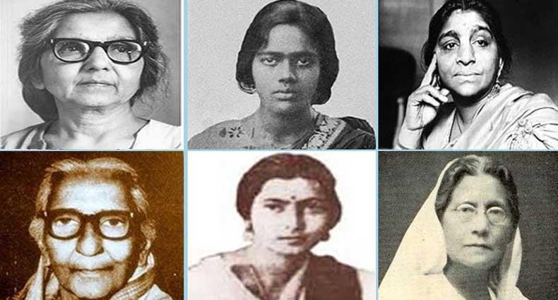 ব্রিটিশ বিরোধী আন্দোলনের ছয় নারী