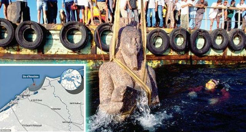 সমুদ্রের নিচে মিললো হাজার বছরের পুরনো শহর