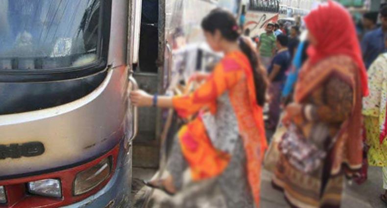 চলন্ত বাসে প্রবাসী নারীকে ধর্ষণ, চালক-হেলপার গ্রেপ্তার