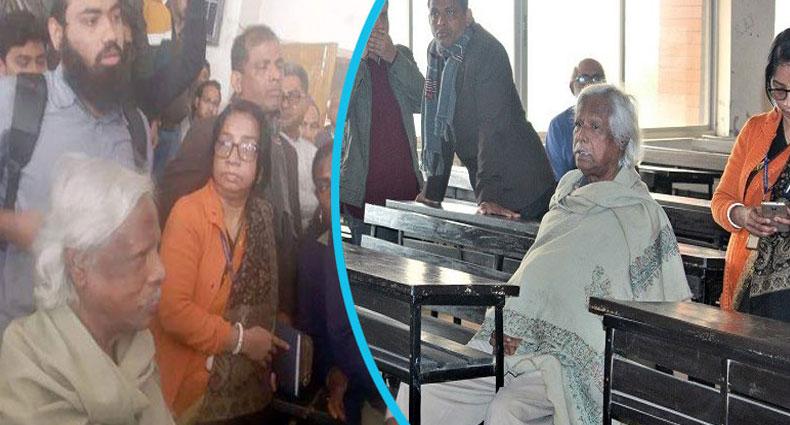 ডাঃ জাফরুল্লাহকে তালাবদ্ধ করে আটকে রেখেছে শিক্ষার্থীরা