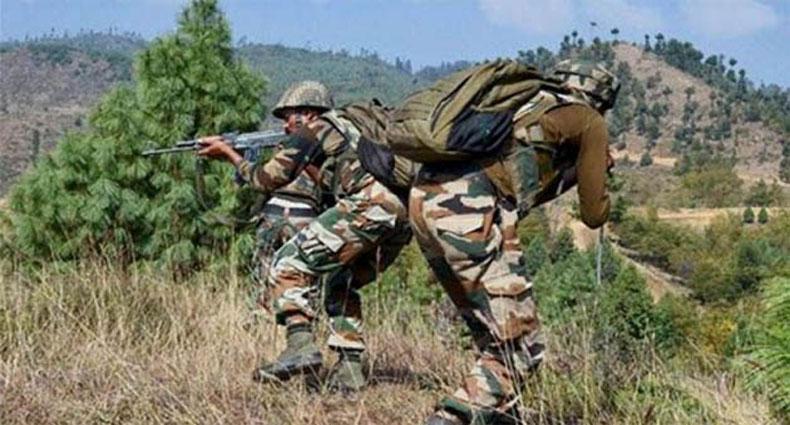 কাশ্মিরে পাক সেনার গুলিতে নিহত এক ভারতীয় সেনা