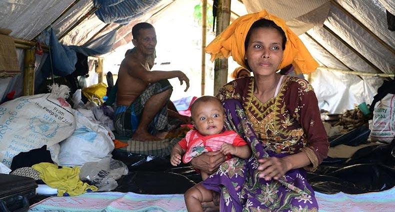 রোহিঙ্গা ক্যাম্পে ২০ মাসে দেড় লাখ শিশুর জন্ম