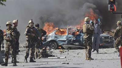 আফগানিস্তানে আত্মঘাতী হামলায় নিহত ১০