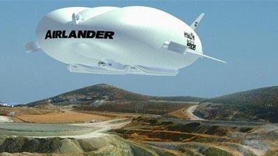 বিশ্বের সবচেয়ে বড় আকাশযান এয়ারল্যান্ডার টেন