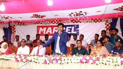 মার্সেল ব্রান্ডের শো-রুম উদ্বোধন করলেন নায়ক আমিন খান