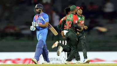 টস জিতে ভারতের বিপক্ষে ফিল্ডিংয়ে বাংলাদেশ