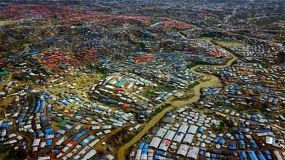 বিশ্বের সবচেয়ে বড় শরণার্থী শিবির কুতুপালং রোহিঙ্গা ক্যাম্প