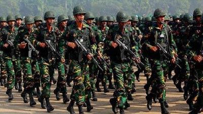 কাল থেকে মাঠে থাকবে সেনাবাহিনী