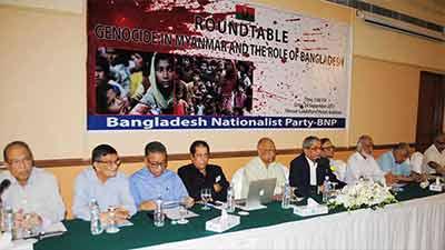 রোহিঙ্গা ইস্যু: বাংলাদেশকে সামরিক শক্তি দেখাতে হবে