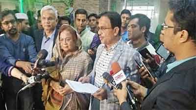 'আ. লীগ নয় বিএনপির প্রতিপক্ষ যেন পুলিশ'
