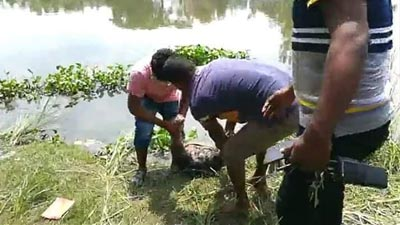 করতোয়া নদীতে মিলল নারী মাদক ব্যবসায়ীর মরদেহ