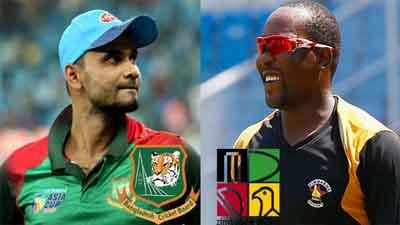 বাংলাদেশ-জিম্বাবুয়ে টেস্ট ৫০, ওয়ানডে দেখুন ১০০ টাকায়