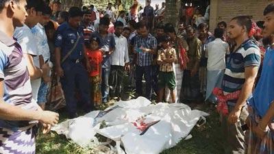 সড়ক দুর্ঘটনায় চাঁপাইনবাবগঞ্জে দুই আম ব্যবসায়ী নিহত