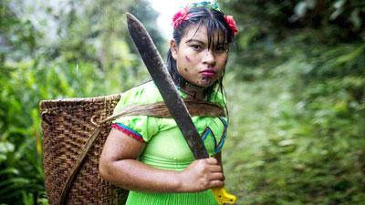 কলম্বিয়ার যে গ্রামে শুধু নারী ও শিশুদের বাস