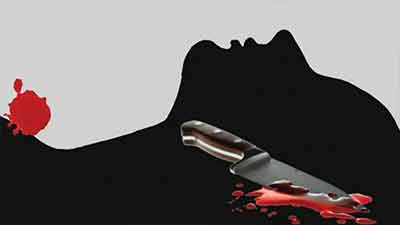 স্বামীর গলাকাটা, ফ্যানের সঙ্গে ঝুলছে স্ত্রী