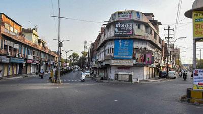 ভারতে ১৪ ঘণ্টার কারফিউ চলছে