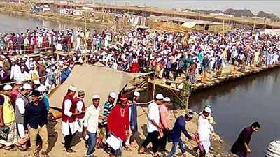 দ্বন্দ্বের অবসান, একসঙ্গে  বিশ্ব ইজতেমা ফেব্রুয়ারিতে