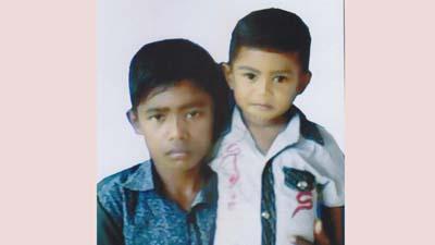 মরন ব্যাধি থ্যালাসেমিয়ায় আক্রান্ত দুই ভাই