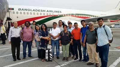 ভারত যাচ্ছে বাংলাদেশের সাংবাদিক প্রতিনিধি দল