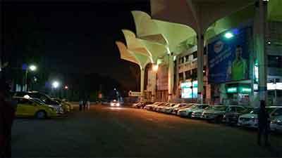 কমলাপুর রেলস্টেশনে আগুন