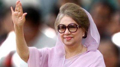 ভালো আছি, দোয়া করবেন: গুলশানের বাসায় খালেদা