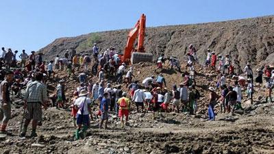 মিয়ানমারে খনি ধসে নিহত ১১৩, আটকা পড়েছে ২০০`র বেশি