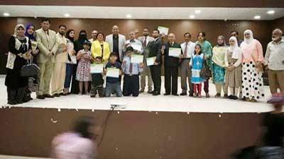 কুয়েতে প্রবাসী বাংলাদেশি কৃতি শিক্ষার্থীদের সম্মাননা