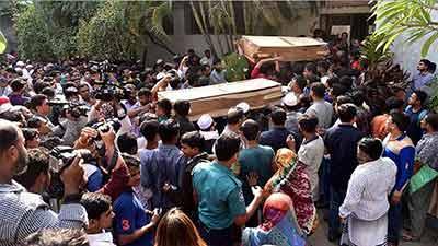 চকবাজার ট্রাজেডি: ৪৭ মরদেহ স্বজনদের কাছে হস্তান্তর