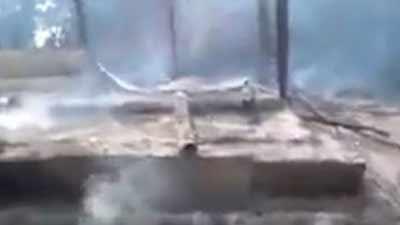শতবর্ষী মসজিদ ধ্বংস করছে মিয়ানমার, ভিডিও প্রচার