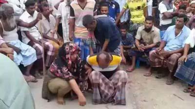 রশিতে বেঁধে গ্রাম ঘুরিয়ে নারী নির্যাতন, মামলা