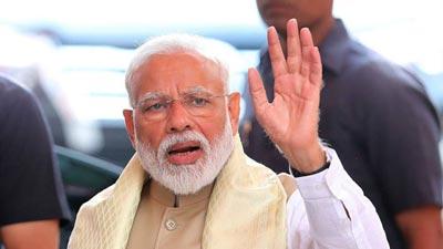 মোদিকে প্রধানমন্ত্রী নিয়োগ দিলেন ভারতের রাষ্ট্রপতি