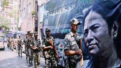 নির্বাচনের আগেই পশ্চিমবঙ্গে নামছে সামরিক বাহিনী