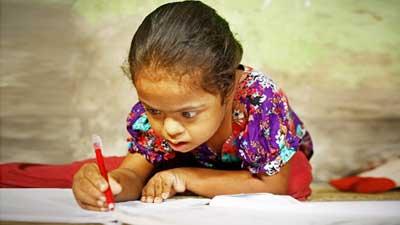 'শিক্ষার  আলো বঞ্চিত কুমিল্লার চার শতাধিক প্রতিবন্ধী শিশু'