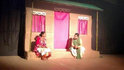 হবিগঞ্জে 'অপ্রাকৃতিক প্রকৃতি' নাটক মঞ্চস্থ