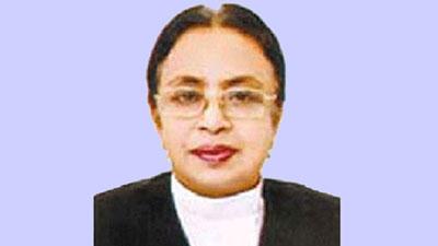 দেশের প্রথম নারী বিচারপতির নাজমুন আরা সুলতানার বিদায়