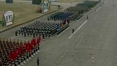 জাতীয় প্যারেড গ্রাউন্ডে চলছে সশস্ত্র বাহিনীর মনোজ্ঞ কুচকাওয়াজ