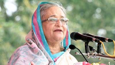 নৌকায় ভোট দিন, সোনার বাংলাদেশ উপহার দেব